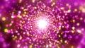 일루미네이션 터널 (루프 가능) - 핑크 / 블랙 배경 59787749