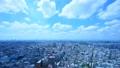 東京 世田谷調布方面 タイムラプス 雲の動き 広角 59990604