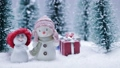 Snowmen and gifts 60105649