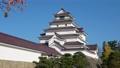 秋の鶴ヶ城(福島県・会津若松市) 60394445
