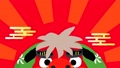 New Year's card video 2020 Lion dance and mouse No characters 60439082