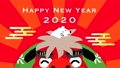 New Year's card video 2020 Lion Dance and Rat 60439083