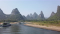 Boat on Li river cruise between Guiling and Yangshuo 60469229
