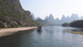 Boat on Li river cruise between Guiling and Yangshuo 60469230