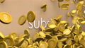 Subsidy cost increasing animation. 60804944