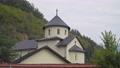 Monastery Moraca. Church in a mountain village. Montenegro 60931231