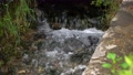 View of the rushing stream of water in a mountain stream 60931232