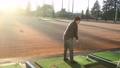 ゴルフ ゴルフ練習 シューティングレンジ 打ちっぱなし 男性 40代 趣味 スポーツ  61113209