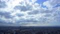 東京 目黒区 神奈川方面 タイムラプス 光芒 薄明光線 61193368