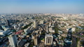 time lapse of Bangkok city downtown skyline and expressway road, view from Baiyoke Tower II in Bangkok, Thailand 61211838