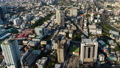 time lapse of Bangkok city downtown skyline and expressway road, view from Baiyoke Tower II in Bangkok, Thailand 61211839