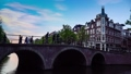 Amsterdam city skyline, Netherland, full hd 61253912
