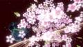 桜と墨のスパーク ループ 61277663
