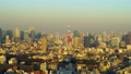 2020 Tokyo Tower in the evening Normal speed Zoom out 61389887