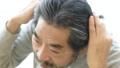 60多歲的男人在乎自己的頭髮的形象 61430582