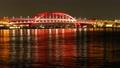神戸大橋 夜景  タイムラプス 4K チルト下 61693767