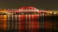 神戸大橋 夜景 タイムラプス 4K パン右 61693768