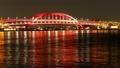 神戸大橋 夜景  タイムラプス 4K ズームアウト 61693770