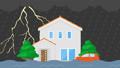 뇌우와 홍수의 동영상 61786158