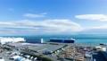 東京灣2020年川崎港時間流逝的京濱工業區貿易和物流基地潘 61959830