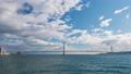 明石海峡大橋と雲のタイムラプス動画 61962399