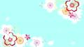 벚꽃이 나타나고, 빙글 빙글 도는 디자인 62348370