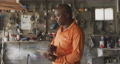 Thoughful African man at work 62464738