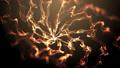 Explosive fire magic spiral 3D render 62748164