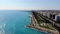 Drone view of Limassol city and marina harbor, Cyprus 62772125