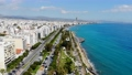 Drone view of Limassol city and marina harbor, Cyprus 62772127