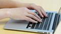 Female finger using computer 62955631