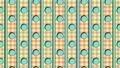 retro animated pattern 3d render animation 63107640