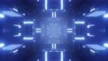 futuristic scifi tunnel 3d render animation 63107642