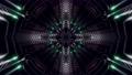abstract kaleidoscope style 3d render animation 63107649