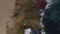 Aerial view of a rocky region of coastal Puerto Rico. 63138760