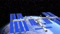 สถานีอวกาศนานาชาติ ISS และ Earth @ perming3DCG 63262067
