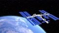 สถานีอวกาศนานาชาติ ISS และ Earth @ perming3DCG 63262068