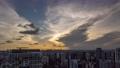 【絶景】夕方の雲の流れと薄明光線 タイムラプス 63332492
