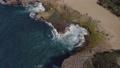 Aerial view of a rocky region of coastal Puerto Rico. 63362831
