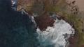 Aerial view of a rocky region of coastal Puerto Rico. 63362839