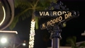 World famous Rodeo Drive symbol, Cross Street Sign, Intersection in Beverly Hills. Touristic Los 63367253