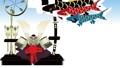 子供の日5月5日端午の節句の兜に空に泳ぐこいのぼりのループ動画 63495611