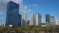 大阪城公園から見るOBPの高層ビル群(タイムラプス) 63533763