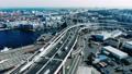 2020 横浜空撮 高速道路 ジャンクション 4K カラグレ 63546959