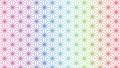 Colorful hemp leaf Japanese style Japanese pattern Japanese style material 63597735