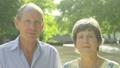 Senior caucasian couple smiling at camera 63711692