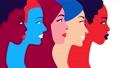 Women community and feminism movement 64619668