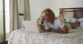 Caucasian couple self isolating at home during coronavirus covid19 pandemic 64903198