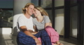 Caucasian couple self isolating at home during coronavirus covid19 pandemic 64903205