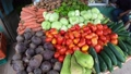 Grocery Market Stall With Fresh Vegetables In Yavitza Panama 65003504